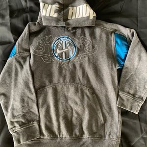 Boys Nike Hoops Hooded Sweatshirt